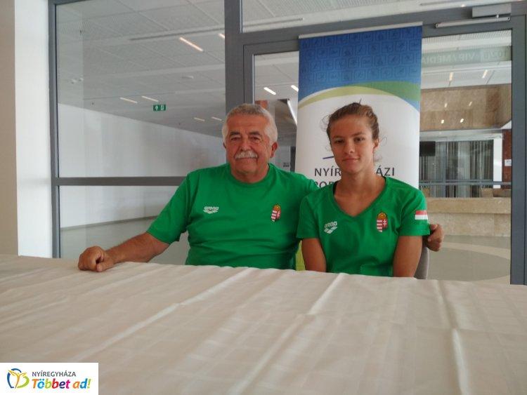 A jó időeredmény és a futamgyőzelem sem ért döntőt - Hatházi Dóra már a VB-re készül