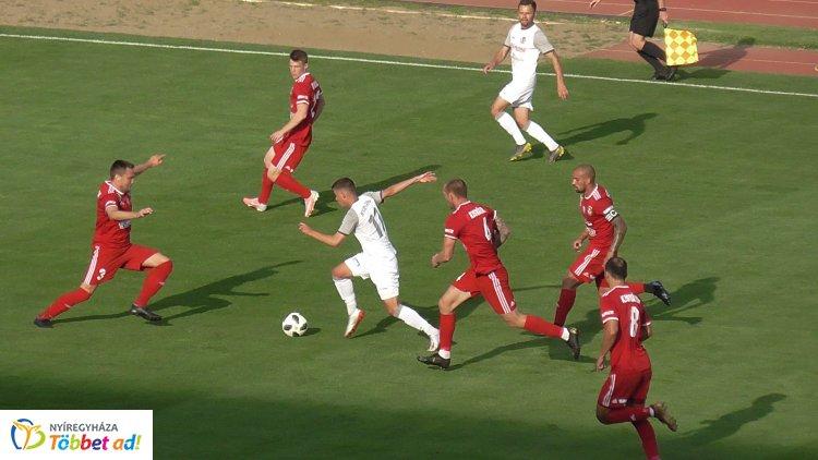 A második edzőmeccs szerdán - a Kisvárda ellen játszott a Szpari