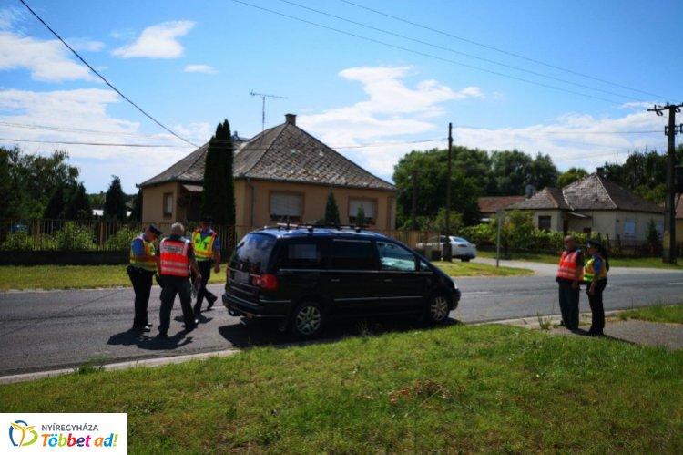 Közös ellenőrzést tartottak a rendőrök a Nemzeti Adó- és Vámhivatal munkatársaival