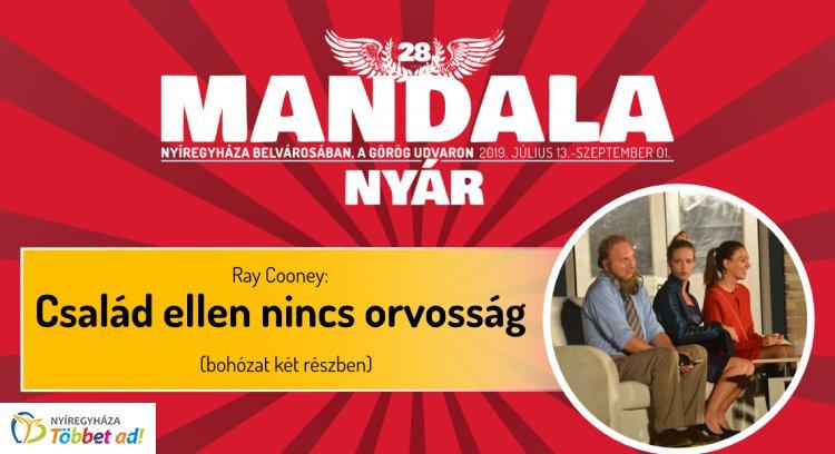 Időpontváltozás: A Mandala Nyár ma esti nyitóelőadása a vasárnapi esőnapon lesz megtartva!