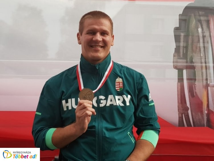Bronzérem a világkupán - Tarjányi István harmadik lett Varsóban