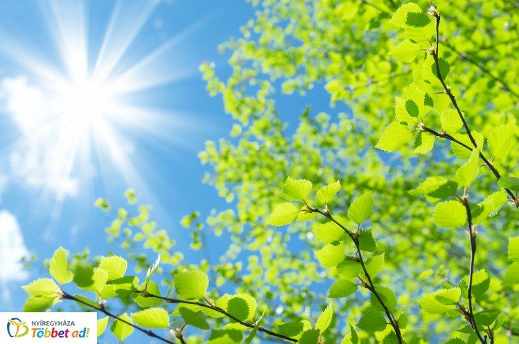 Visszatér a napos, száraz idő – Ilyen időjárás várható a héten, visszatér a nyár!