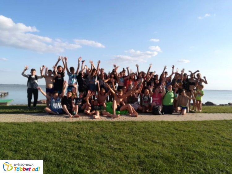 A Bem iskola diákjai Szigligeten táboroztak – Élménybeszámolót is küldtek!