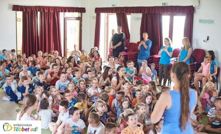 Tíz éves a Nyíregyházi Evangélikus Egyházközség Mandabokori Gyülekezetének nyári tábora