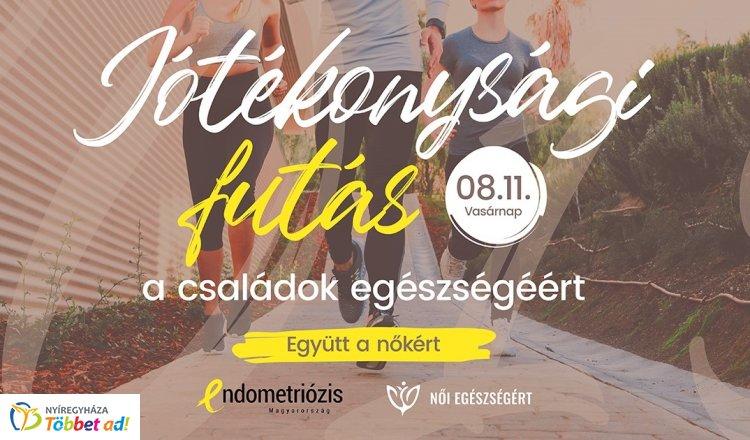 Együtt a nőkért – Jótékonysági futást szerveznek az endometriózissal élő nők javára!