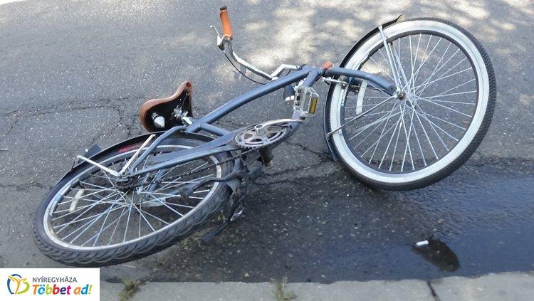 Kerékpárost gázoltak a Korányin – A figyelmetlen biciklis nem állt meg a STOP-nál