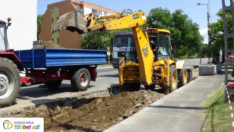 Megújulnak a Rákóczi úti buszöblök – Ideiglenesen áthelyezték a buszmegállókat