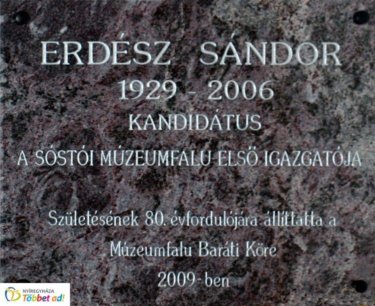 Amiről az utcák mesélnek – Kilencven esztendeje született Erdész Sándor
