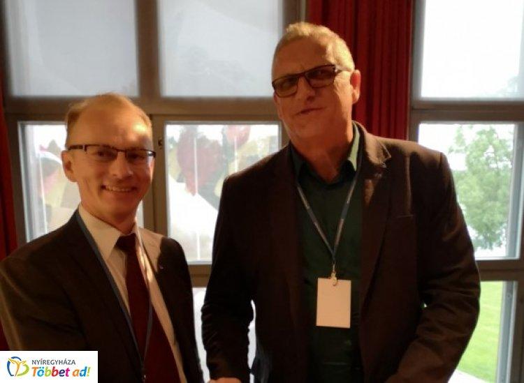 Andó Károly testvérvárosunk vezetőivel is tárgyalt a nemzetközi találkozón