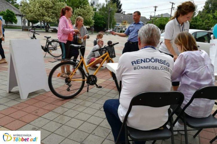 Házhoz mentek Tiszavasváriban – Folytatódik a BikeSafe program