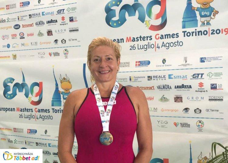 Nyíregyházi arany úszásban az Európai Masters Játékokon Torinóban!