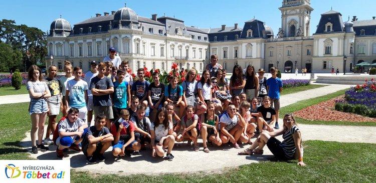 Az Apáczai és a Móra tanulói is Szigligeten táboroztak – Felejthetetlen élmények!