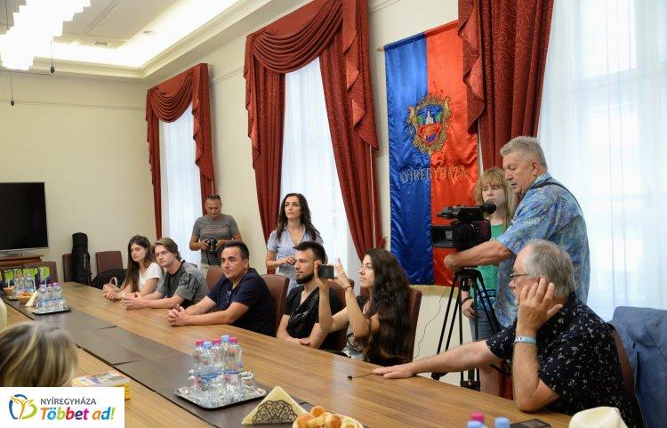 Magyarországi látogatás – Az ukrán vendégek első állomása Nyíregyháza volt