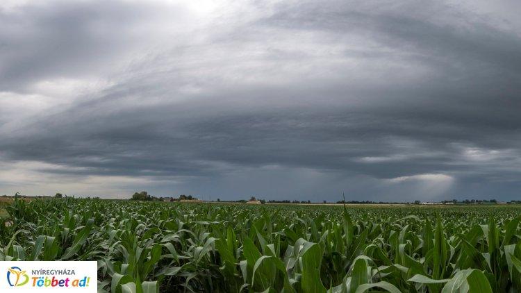 Kiadta a riasztást a meteorológiai szolgálat: itt lesz eső a következő órákban