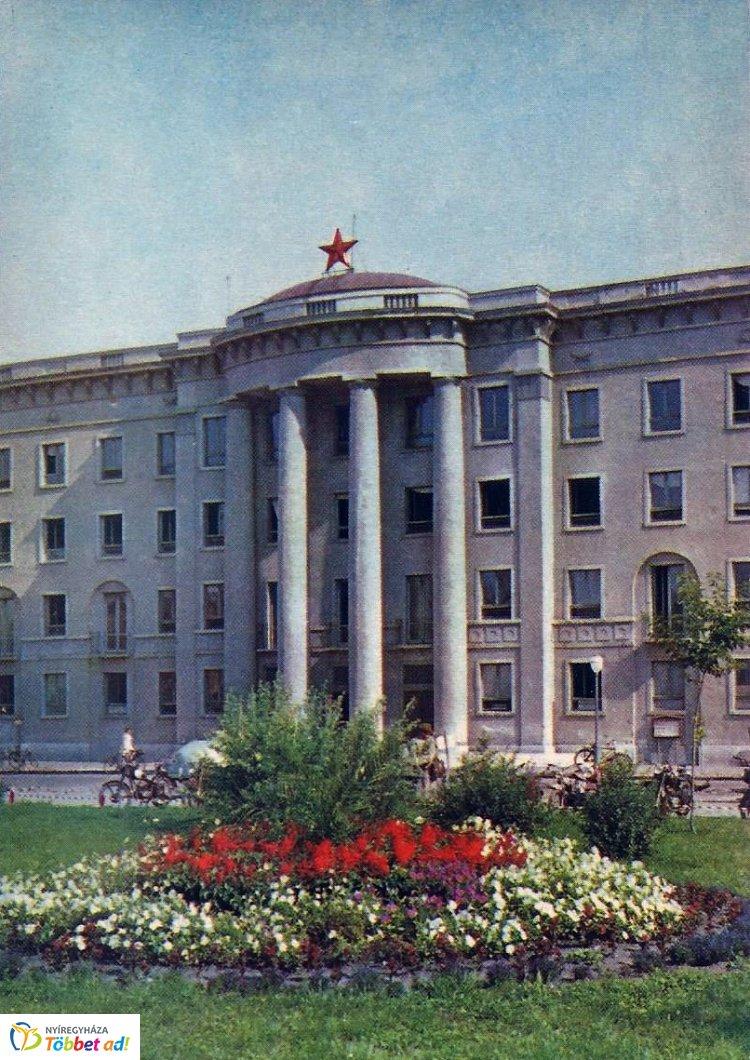 Retró Nyíregyháza sorozat 3. rész - A Zöld Irodaház 1961-ben
