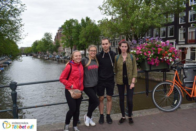 Öt nyíregyházi diák utazott ingyen Európa országaiban a DiscoverEU program révén