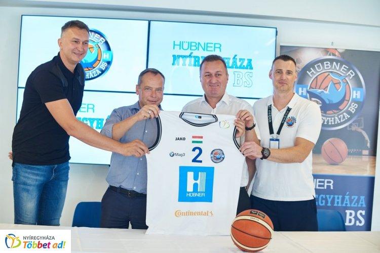 Névszponzor - mostantól Hübner-Nyíregyháza BS a kosárcsapat neve!