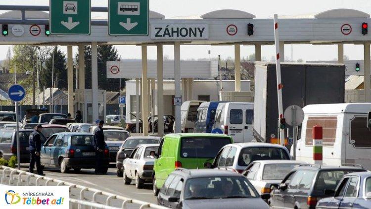 Időszakos forgalomkorlátozás várható a záhonyi közúti határátkelőhelyen