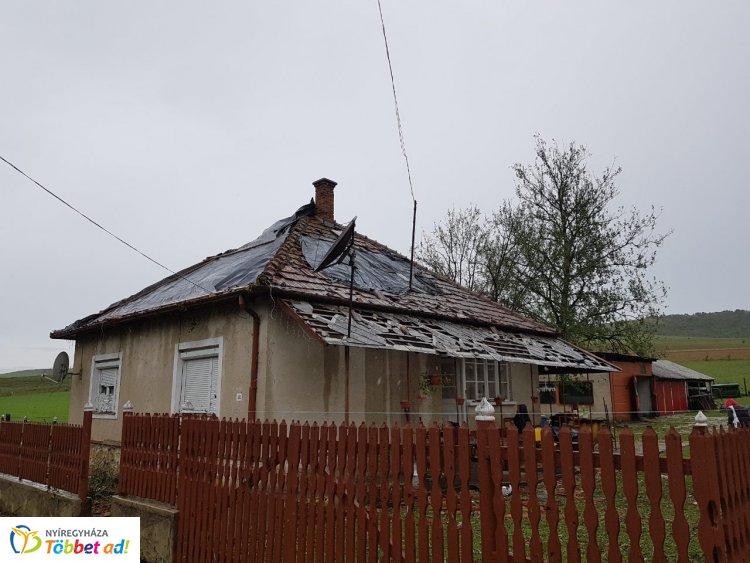 Súlyos viharkárok Borsod-Abaúj-Zemplén megyében – Már a helyszínen segít a Karitász