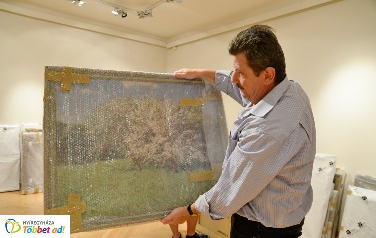 Megérkeztek Szinyei Merse Pál festményei a Jósa András Múzeumba – Hamarosan nyit a tárlat