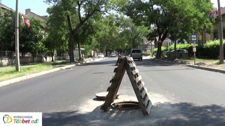 Forgalomkorlátozás – Tovább folytatódik a Bethlen Gábor utca felújítása