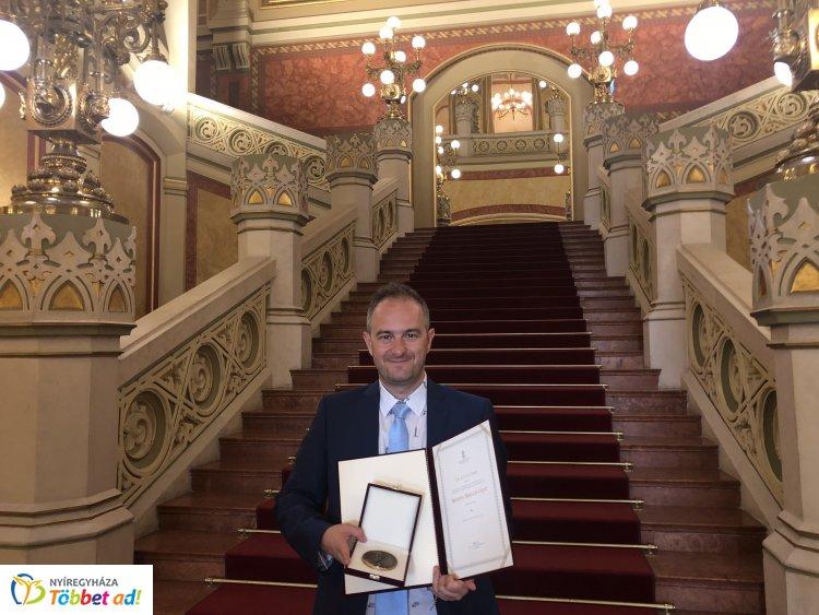 Állami elismerés: Bánffy Miklós-díjat vett át Lutter Imre