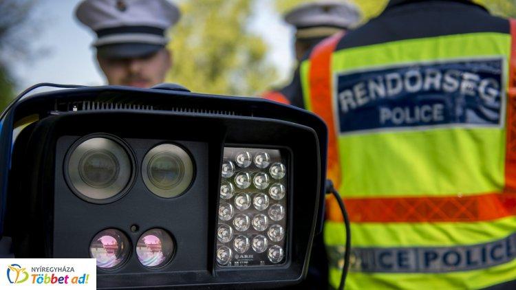 TISPOL Speed – Több ezer gyorshajtót kapcsoltak le egy hét alatt