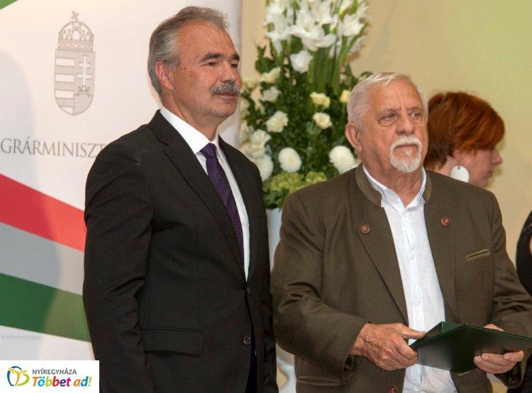 Állami elismerés a nyugalmazott erdészeti igazgatónak, Virág Lászlónak – Gratulálunk!