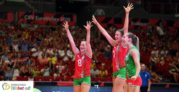 Győzelemmel kezdett a női röplabda válogatott az EB-n - nyíregyházi játékosok a keretben