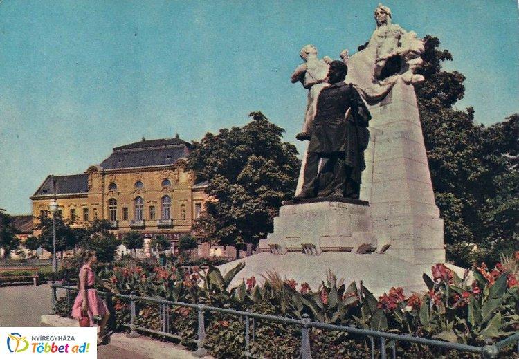 Retró Nyíregyháza sorozat 6. rész - A Kossuth-szobor 1963-ban