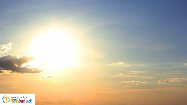 Augusztus utolsó napjaiban is meleg marad az idő – 30 fok körüli hőmérséklet várható