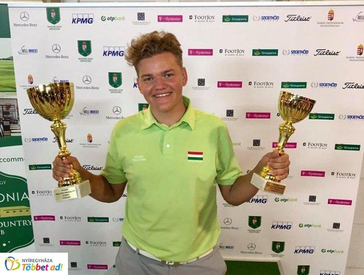 Zsinórban ötödször is junior bajnok - Závaczki Bálint ismét nyert korosztályában