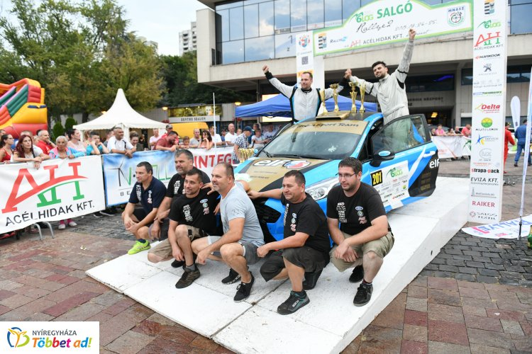 Nyíregyházi bajnok a Rally 2-ben - a Trencsényi-Pannuska páros Salgótarjában is nyert