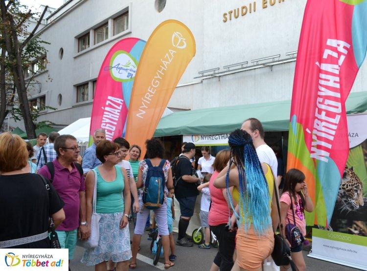Nyíregyháza ismét Erdély legnagyobb kulturális fesztiválján csábította a vendégeket