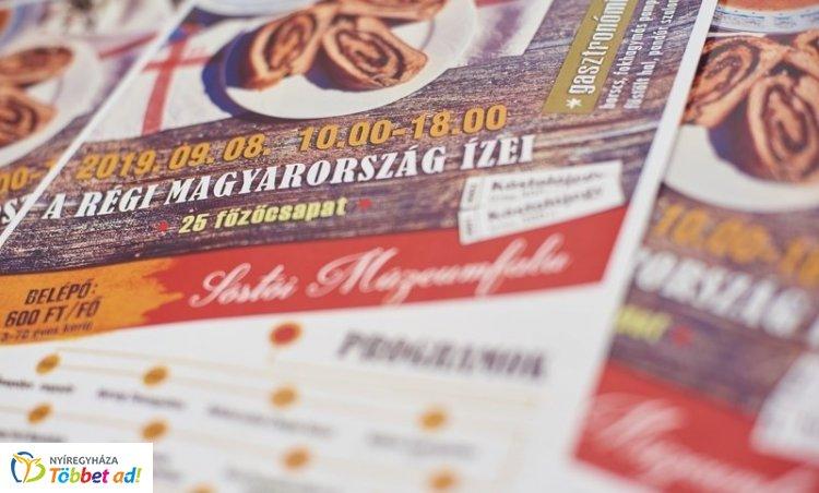 A régi Magyarország ízei – Borscs, pampuska és lapcsánka is készül a Sóstói Múzeumfaluban