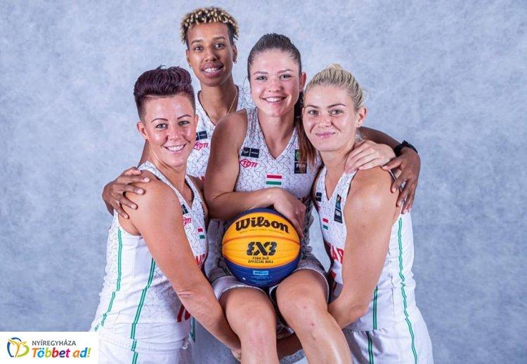 FIBA 3x3 kosárlabda - Papp Klaudiáék győzelmekkel kezdték az EB-t