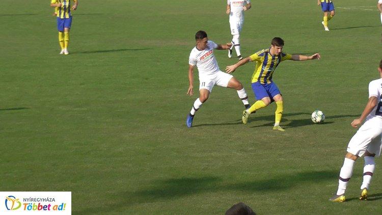 Négy gól egyenlő elosztásban - döntetlent játszott idegenben a Spartacus