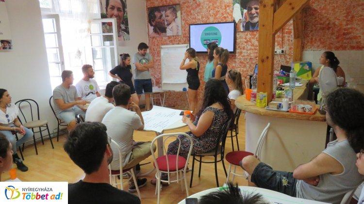 Ifjúsági csere olasz, spanyol, görög, portugál és magyar fiatalok részvételével