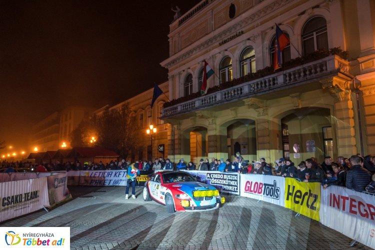 Rally EB - novemberben Nyíregyházára érkezik a rangos mezőny