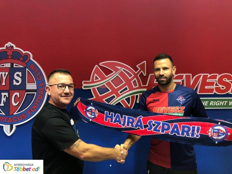 Korábbi Fradi játékost igazolt a Szpari - Busai Attila Nyíregyházán