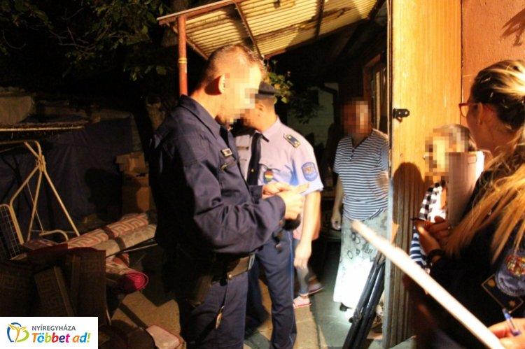Fokozott ellenőrzést tartott a Nyíregyházi Rendőrkapitányság