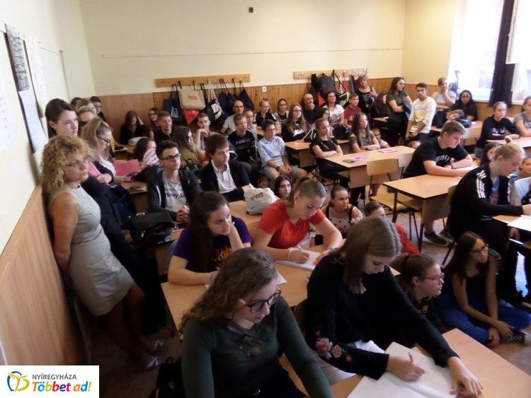 Nyílt nap és pályaválasztási szülői értekezlet a Vasvári Pál Gimnáziumban