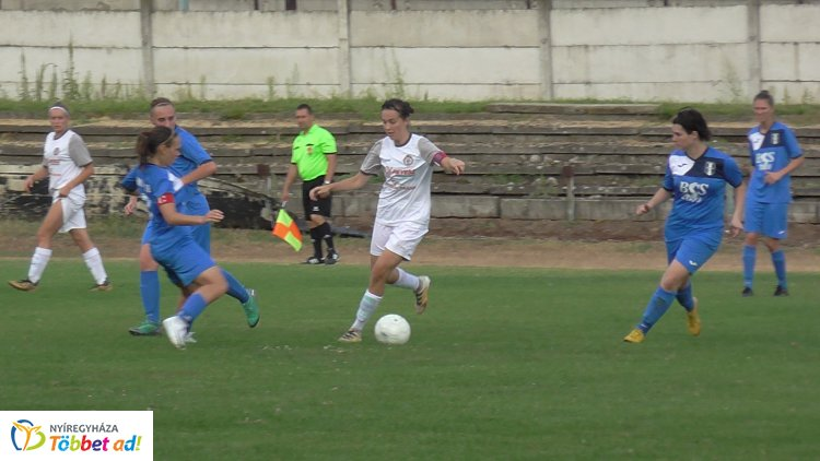 A második győzelem - nyert a Spartacus női labdarúgó csapata