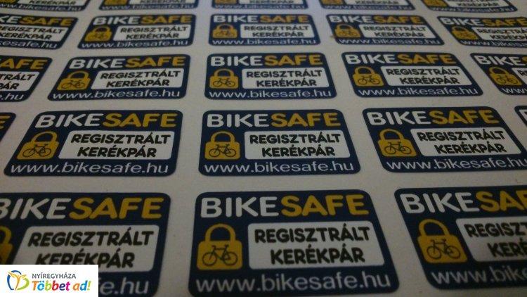 BikeSafe kerékpár-regisztráció Leveleken – Folytatódik a program!
