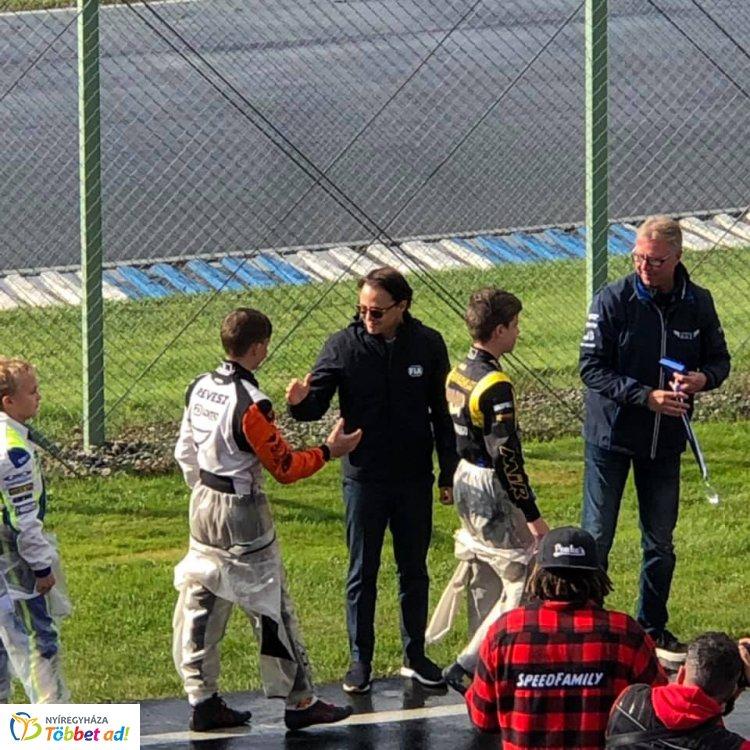 Gokart Junior VB - Felipe Massa is gratulált a nyíregyházi pilótának