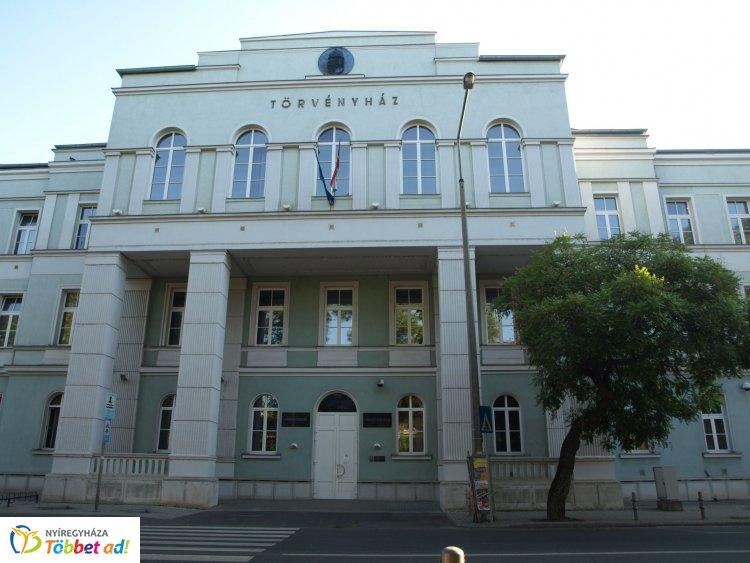 Bekerült a Megyei Értéktárba a Nyíregyházi Törvényszék Bocskai utcai főépülete