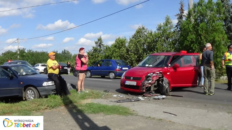 Súlyos baleset történt kedd délután Sóstóhegy és Kemecse között, egy személy megsérült
