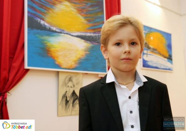 A Kezdet - A 9 éves felvidéki kisfiú, Bánhegyi István András kiállítása Nyíregyházán