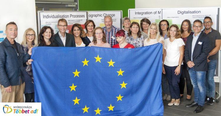 Erasmus +  program 'CROSS' project – Új tanulási helyek létrehozása