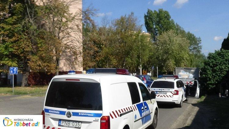 Baleset történt hétfő kora délután a Váci Mihály utcán, rendőri intézkedésre volt szükség